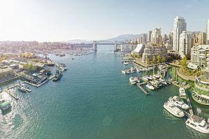 Vancouver bay panoramic
