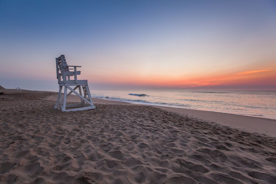 Lifeguard Chair at Coast Guard Beach