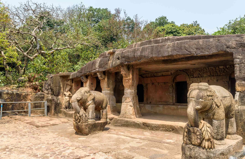Ganesh Gumpha en las cuevas de Udaygiri