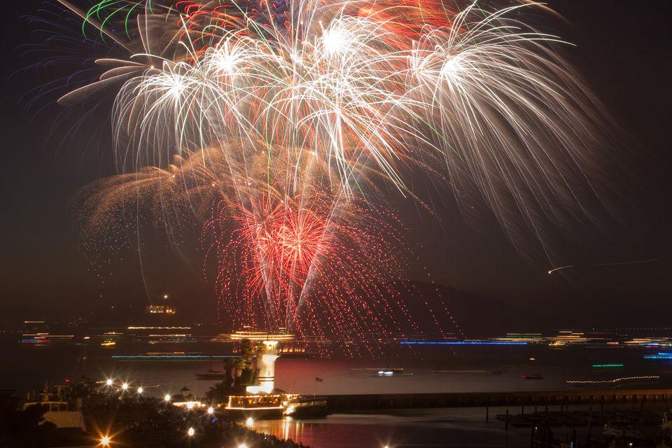 Fireworks At Pier 39