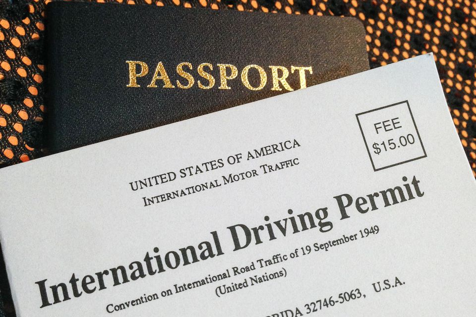 How To Get An International Drivers Permit Or License