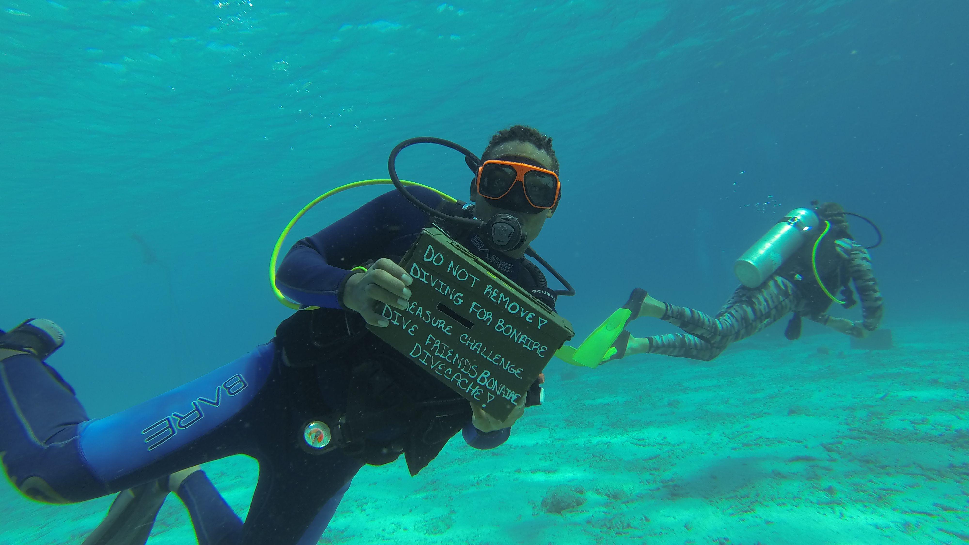 Dive Caching: The Caribbean's Renewable Treasure Hunt