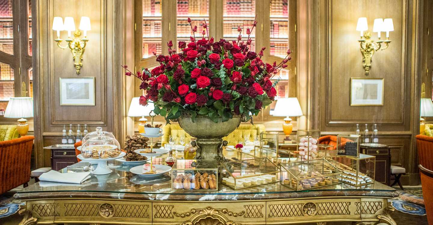 Afternoon tea at the Ritz: iconic and glamorous.