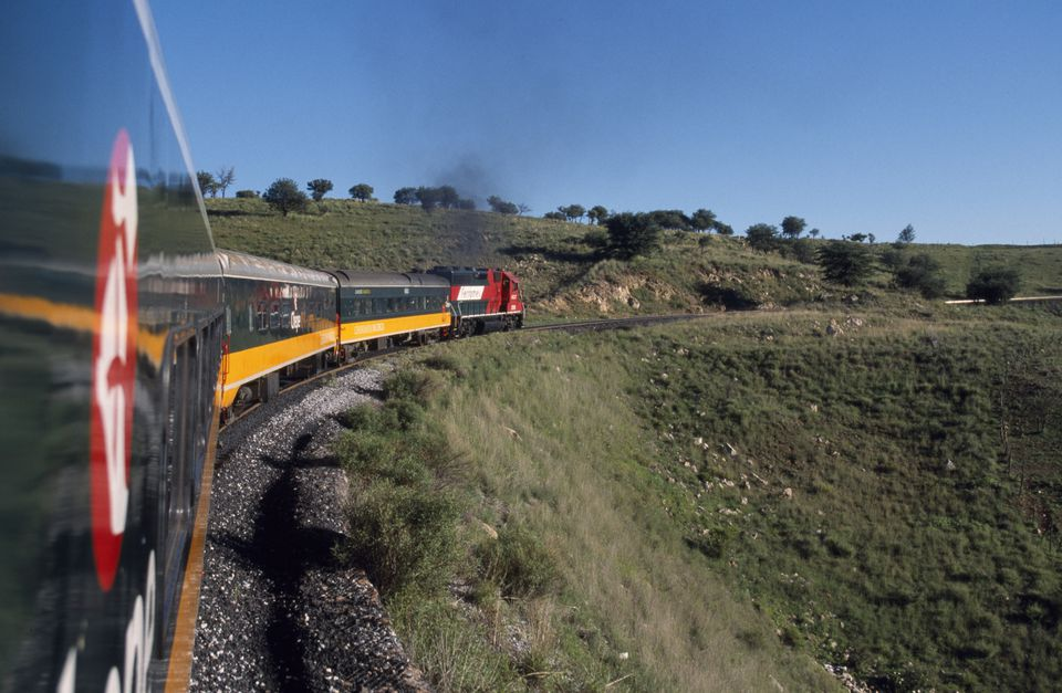 El Chepe railway runs through Mexico's Copper Canyon