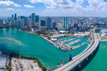 Birdseye view of Miami
