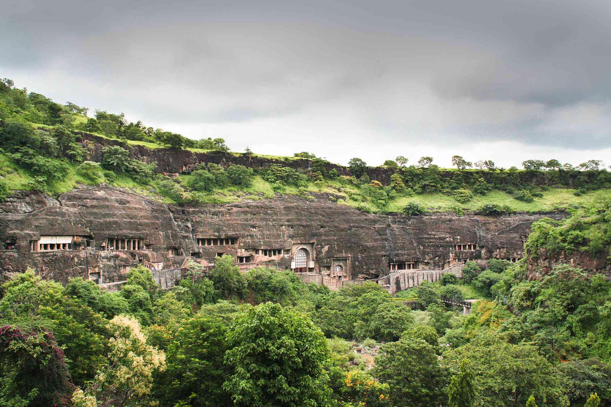 Ajanta caves, Maharashtra.