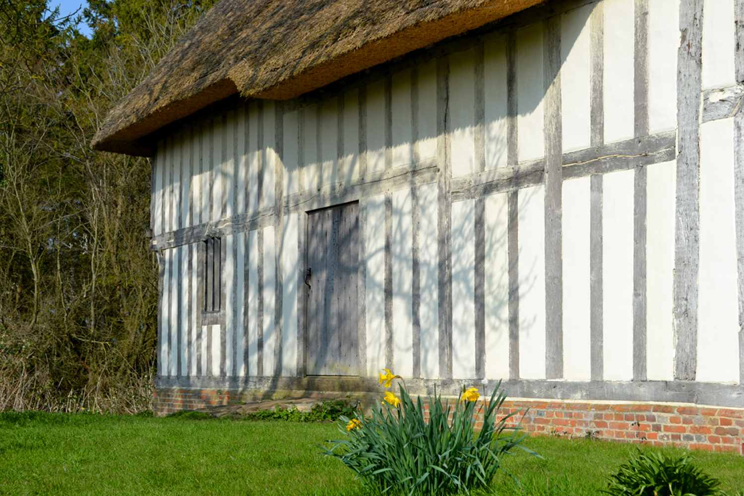 Purton Green Medieval Hall House you can stay in.