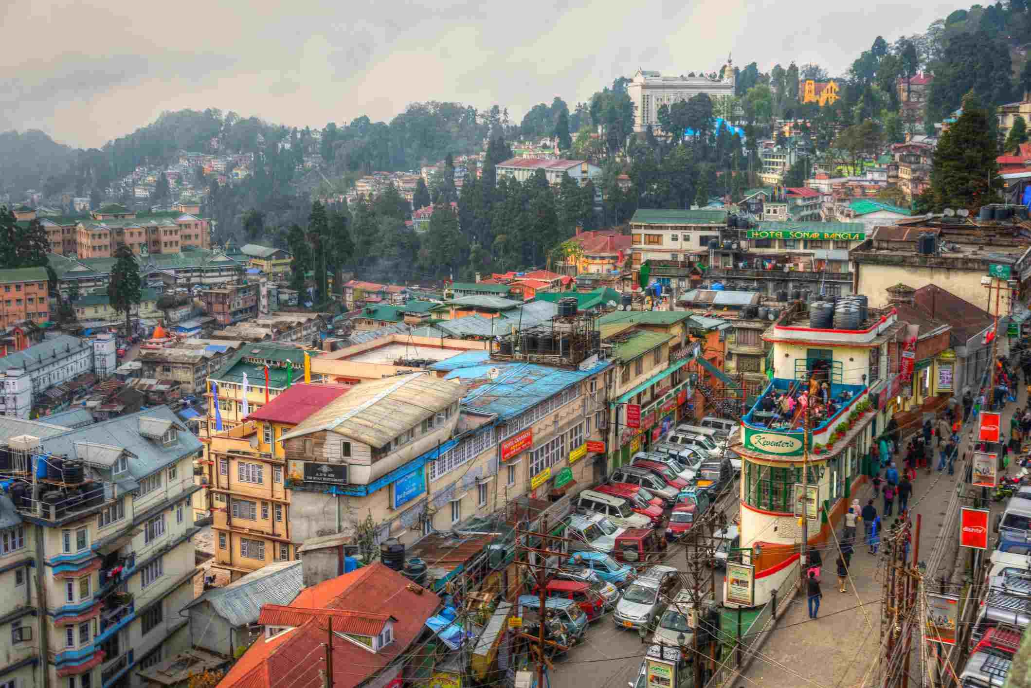 Darjeeling, Queen of the Hills, West Bengal, India