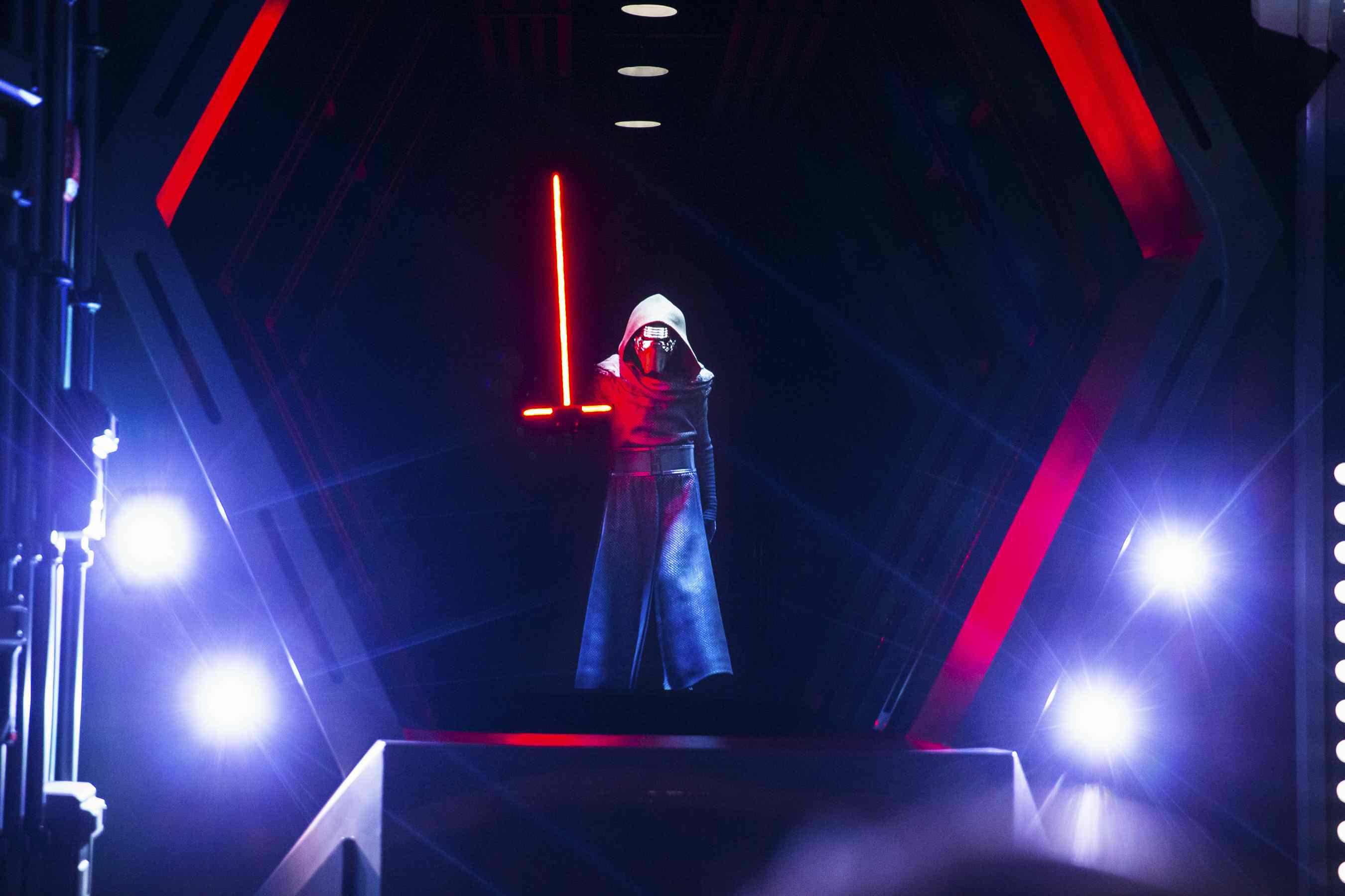 Kylo Ren in Star Wars- Rise of the Resistance