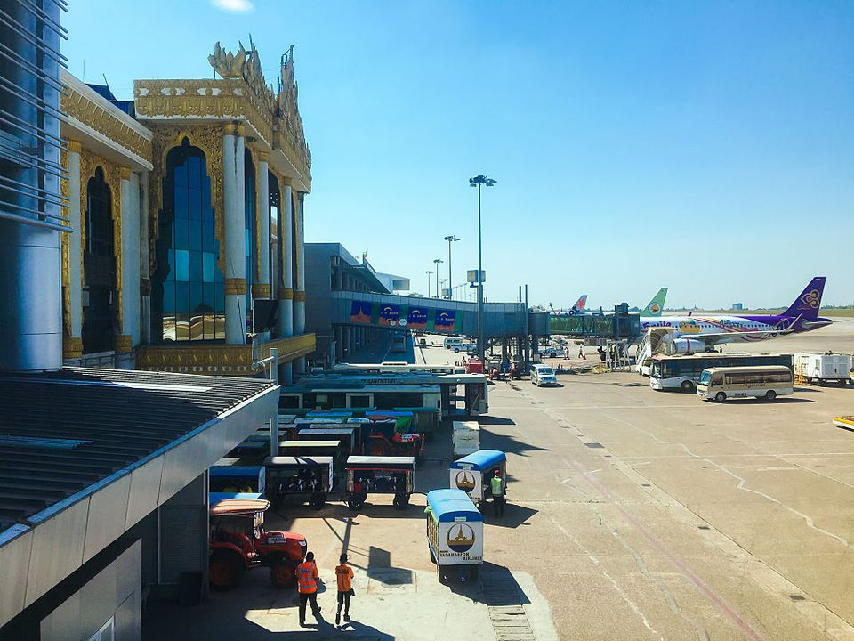 Yangon International Airport exterior