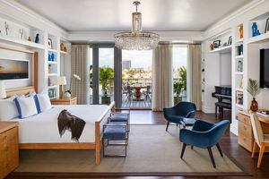 Suite at The Betsy boutique hotel in Miami