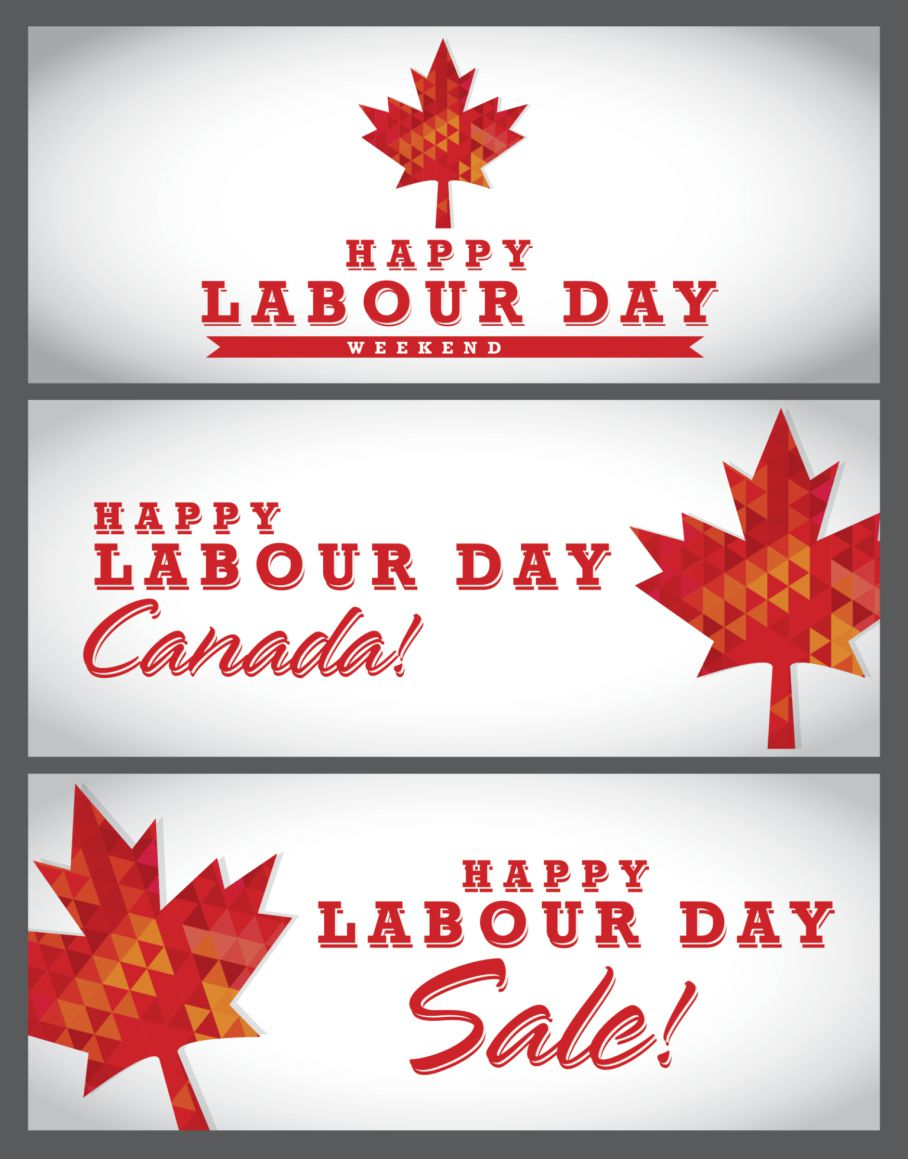 Labour Day Holiday Weekend In Canada