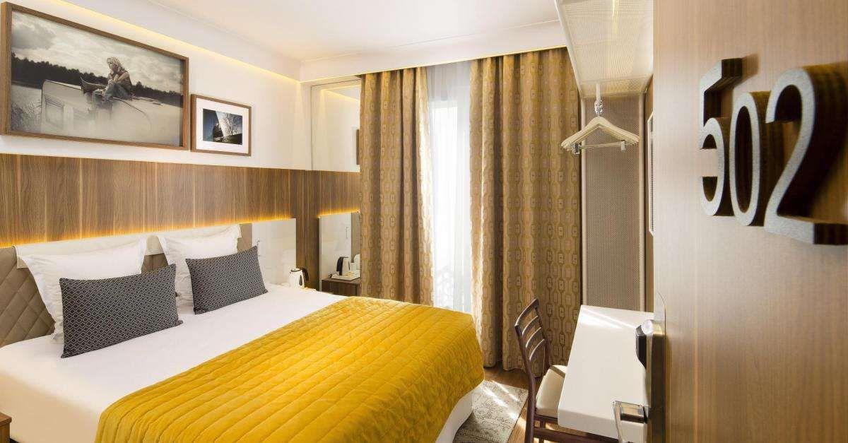 Room at the Hotel Eiffel Turenne, Paris