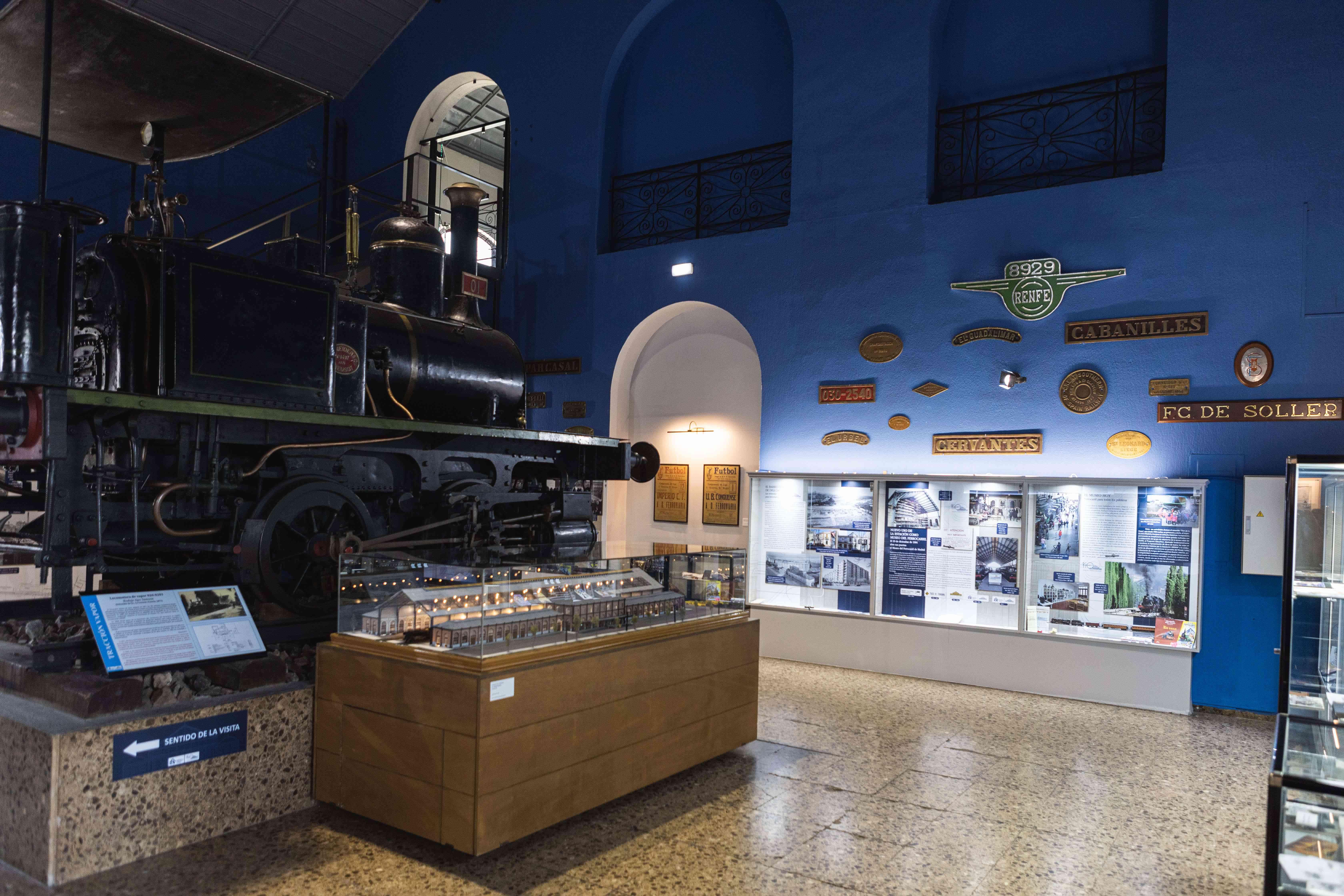 Museo del Ferrocarril in Madrid, Spain