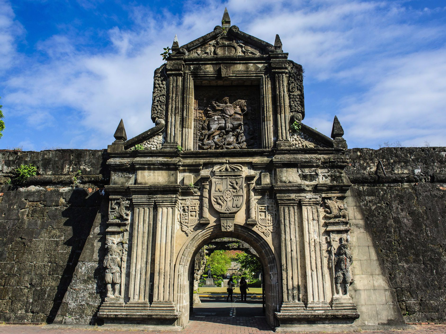 Fearsome Fortress Fort Santiago In Intramuros Manila