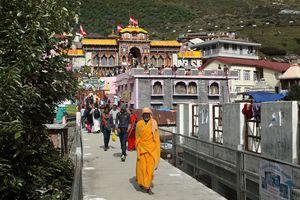 Badrinath temple.