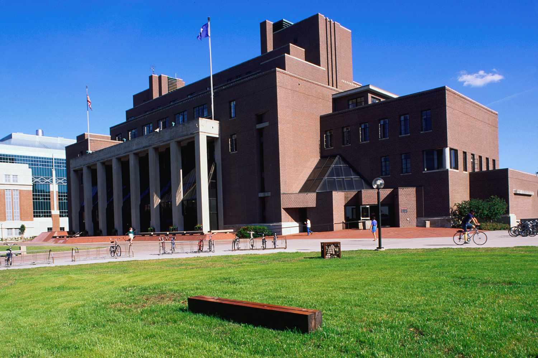 Memorial Union building at the University of Minnesota