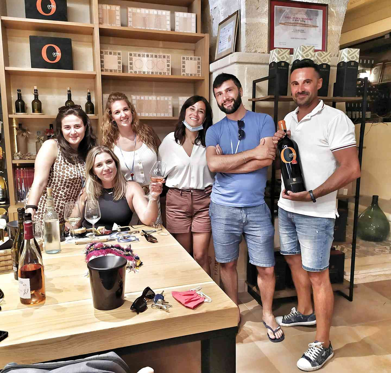 Wine tasting with Salento Wine Tours