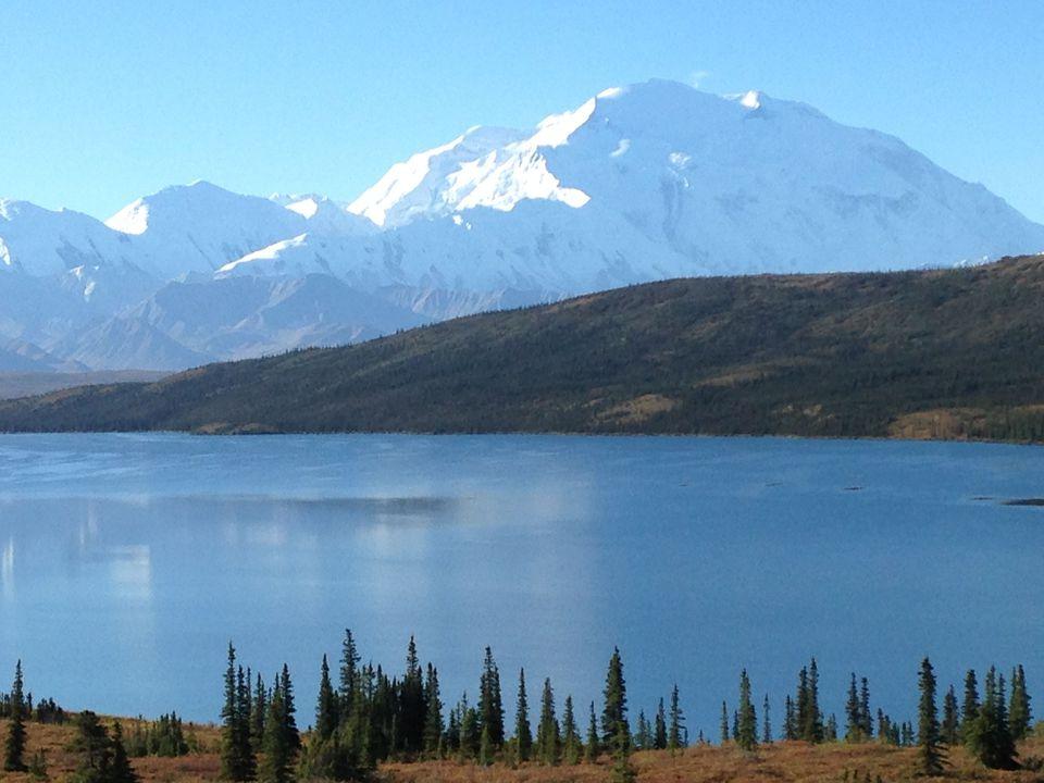Denali from Wonder Lake