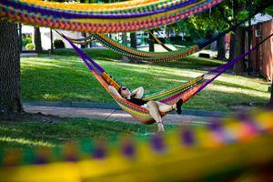 Hammocks at Spruce Street Harbor Park