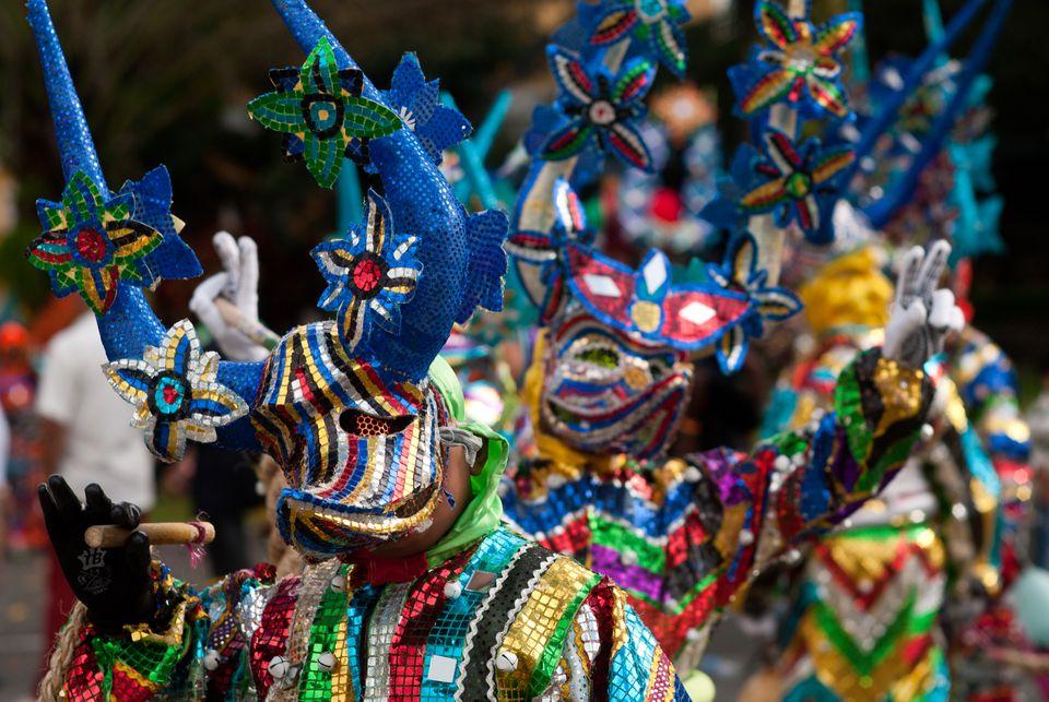 Carnival in Santiago de los Caballeros