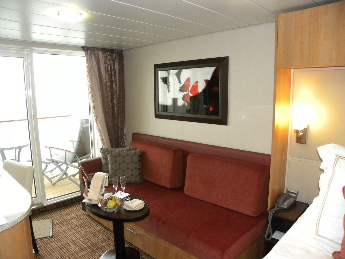 Celebrity Silhouette - Concierge Class Cabin