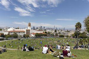 Dolores Park at San Francisco