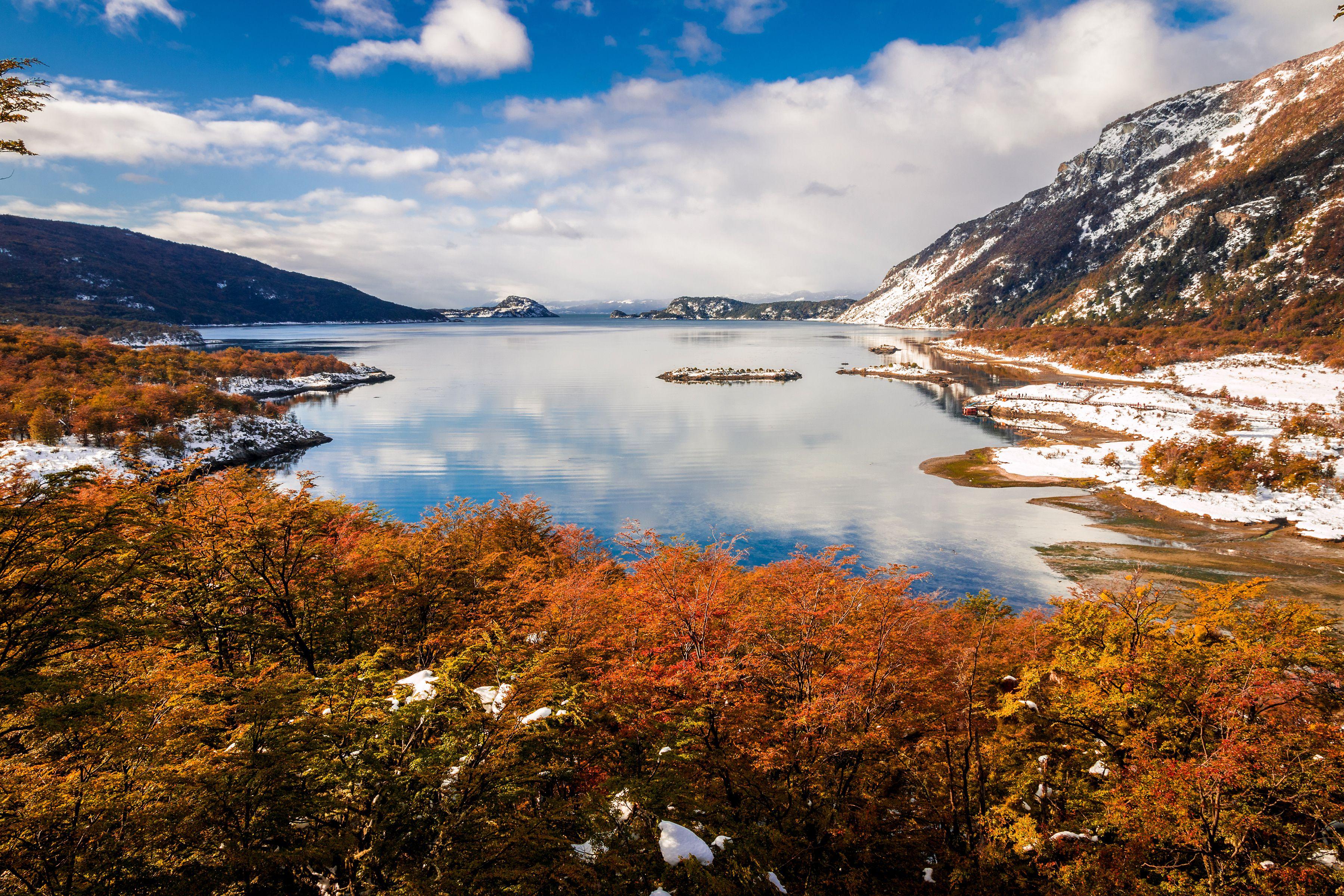 Bahía Lapataia en el Parque Nacional Tierra del Fuego