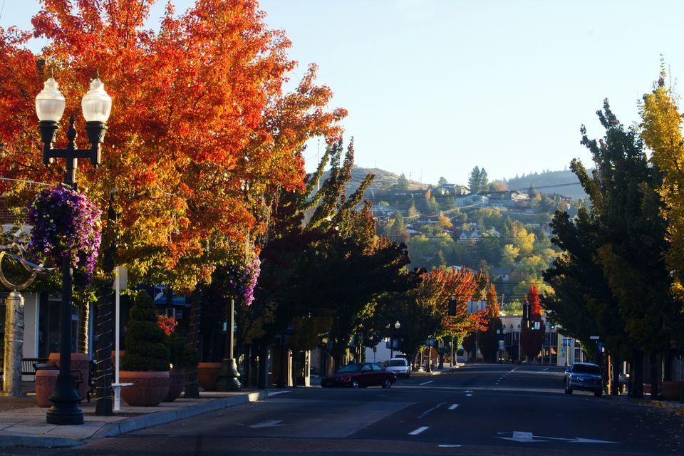 Fall in Klamath Falls, Oregon