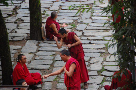 McLeod Ganj Monks Debate