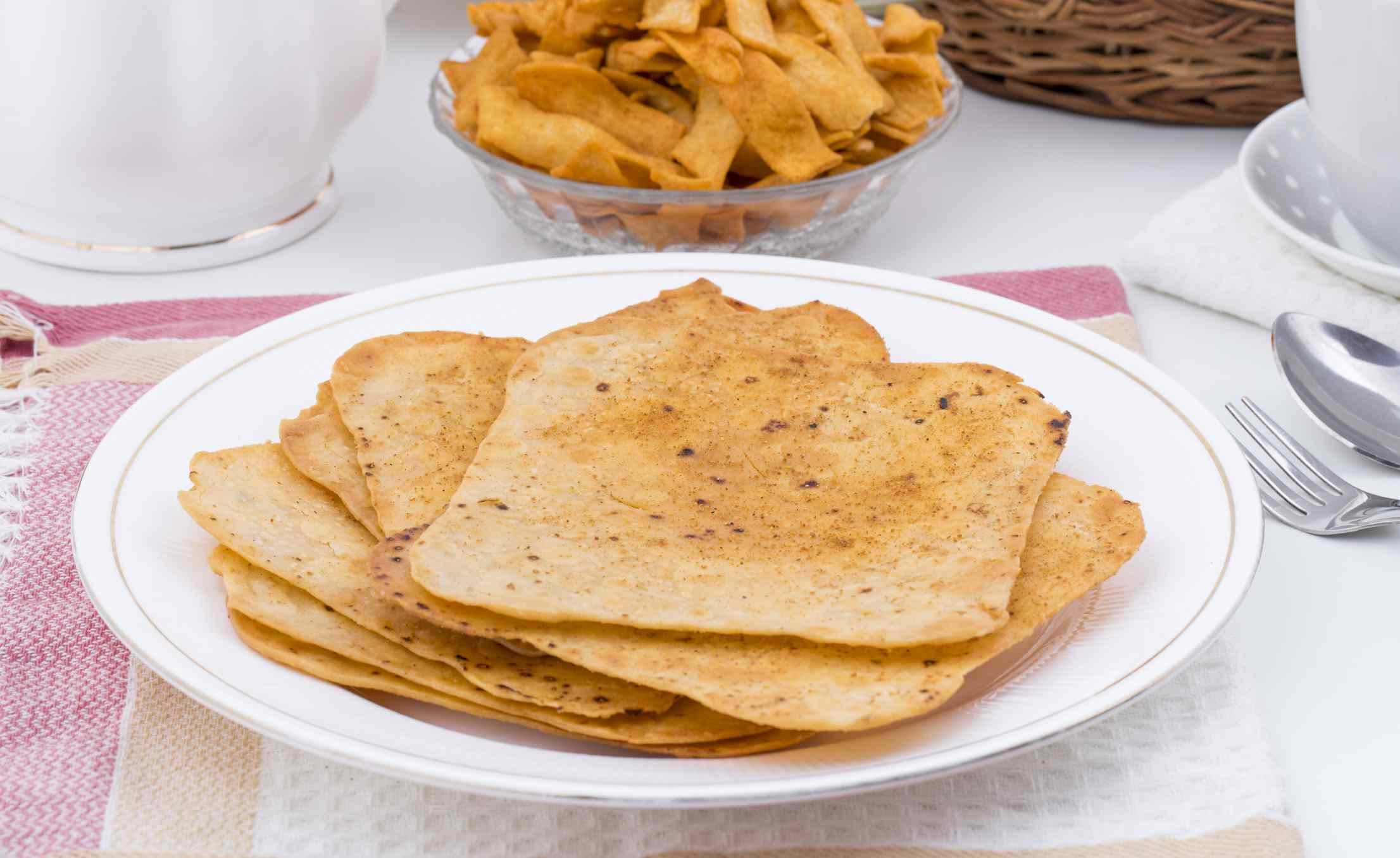 Indian Khakhra is a Traditional Gujarati Snack