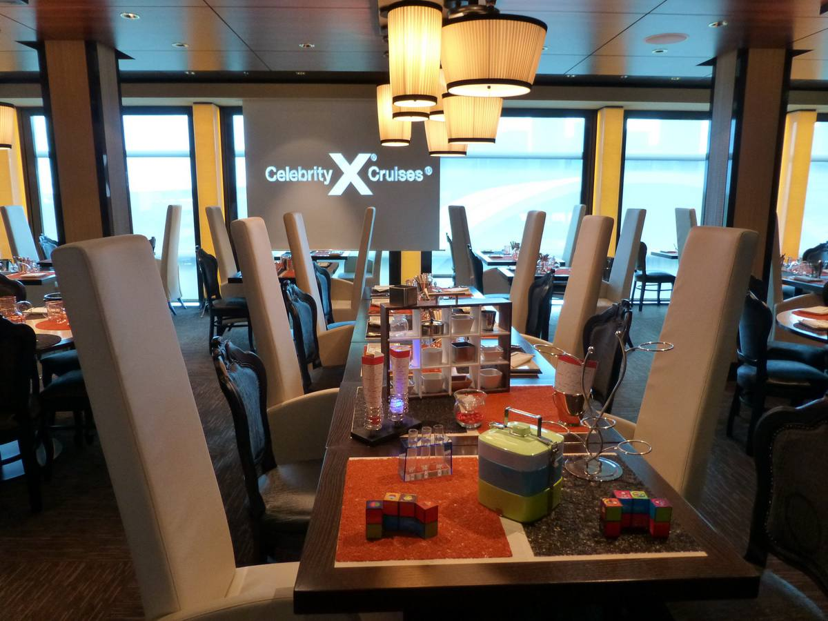 Celebrity Reflection - Qsine Restaurant