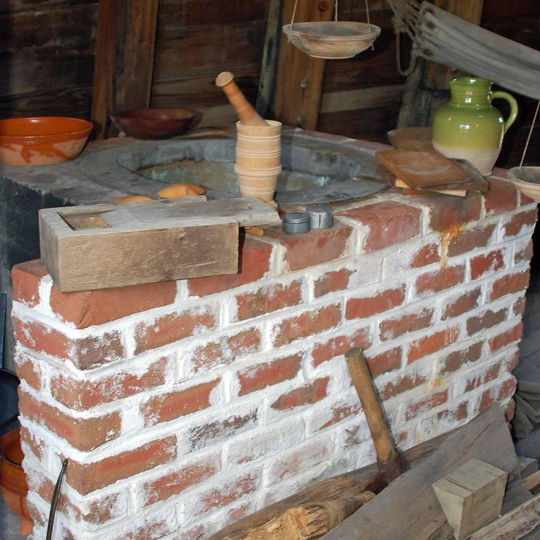 Mayflower II Kitchen