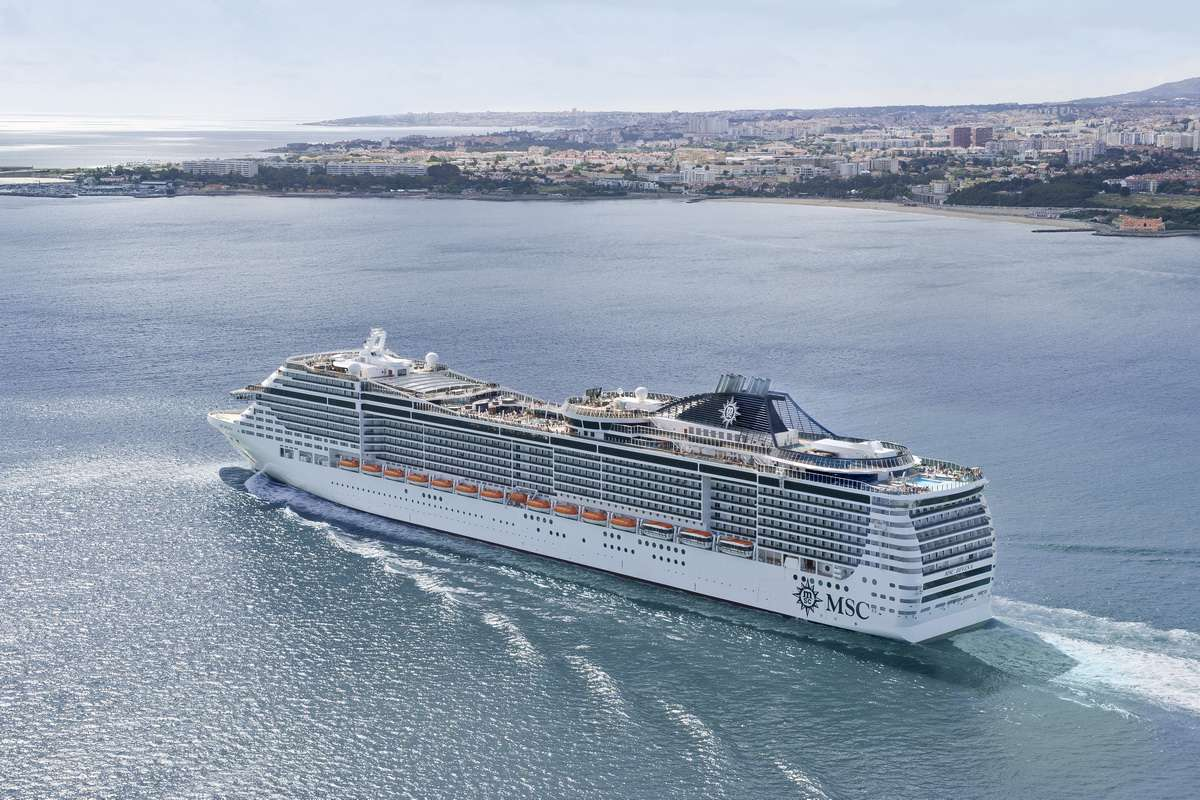 MSC Divina Cruise Ship - Tour and Overview