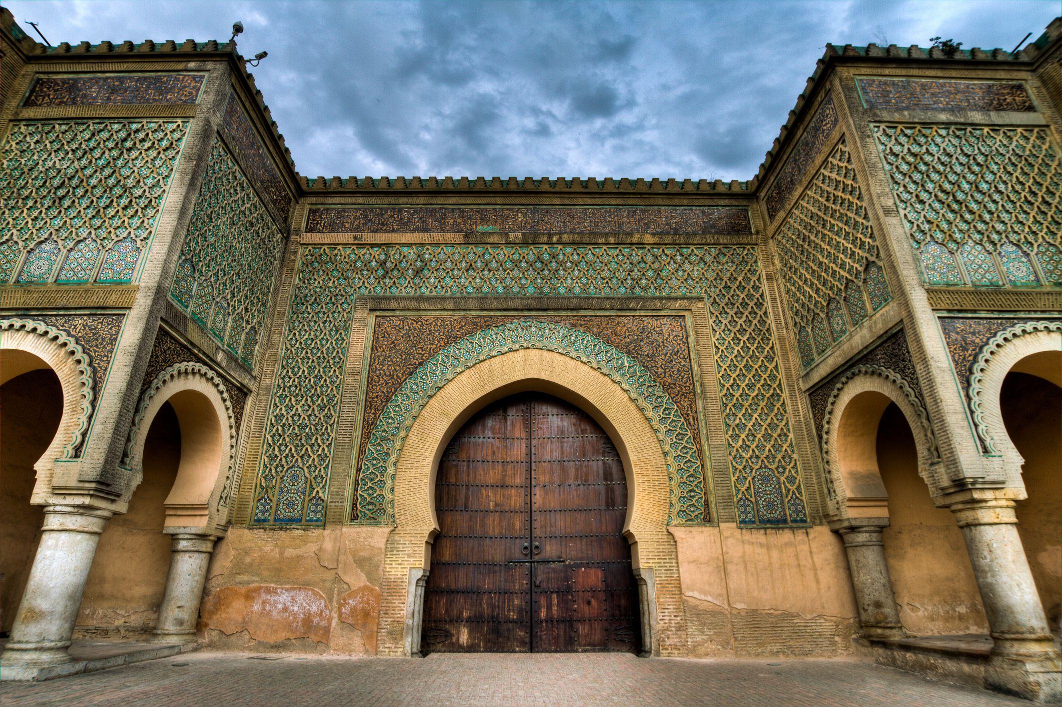 Bab Mansour Gate, Meknes