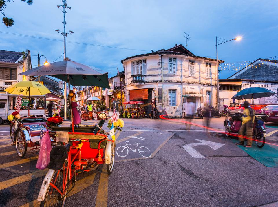 Shopping Malls & Markets in Georgetown, Penang