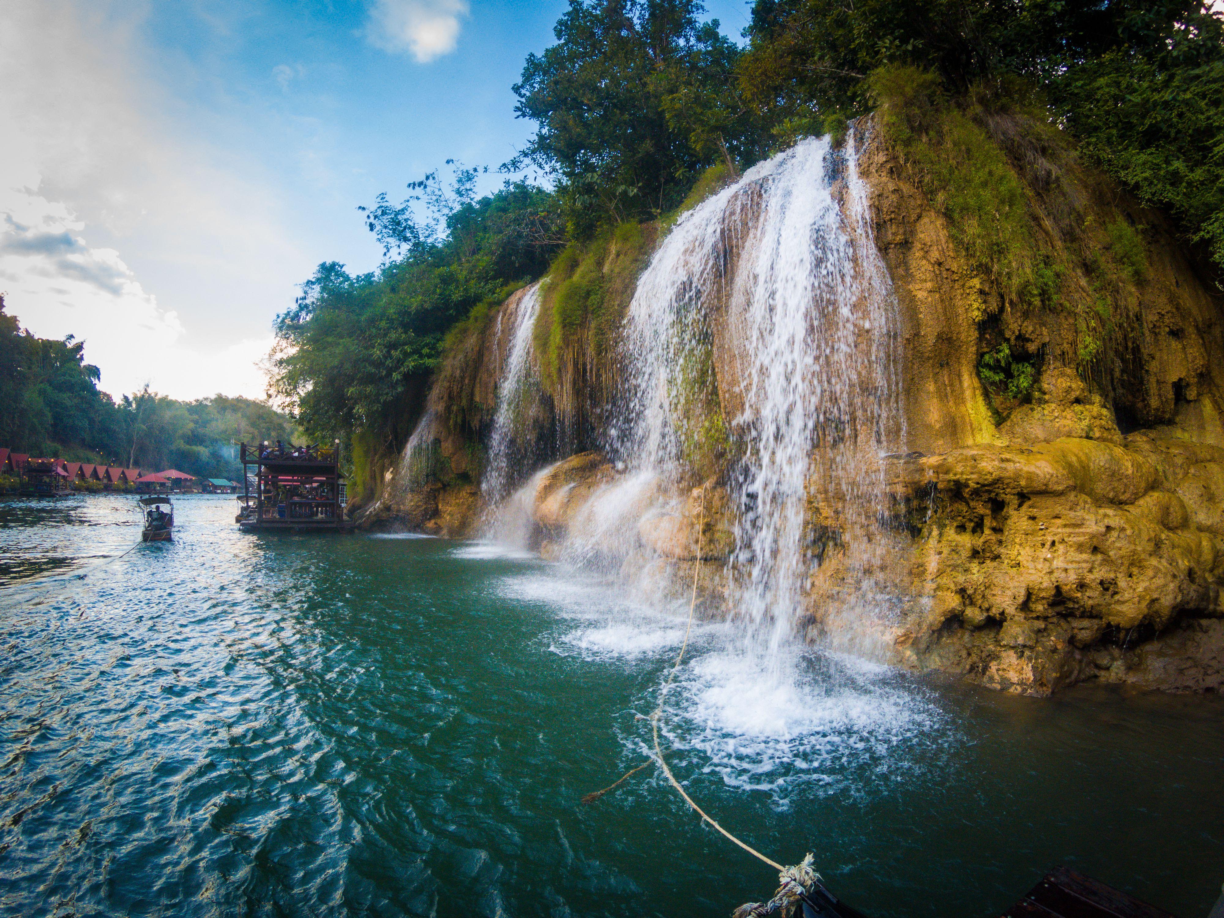 Sai Yok Lek Waterfall near Kanchanaburi