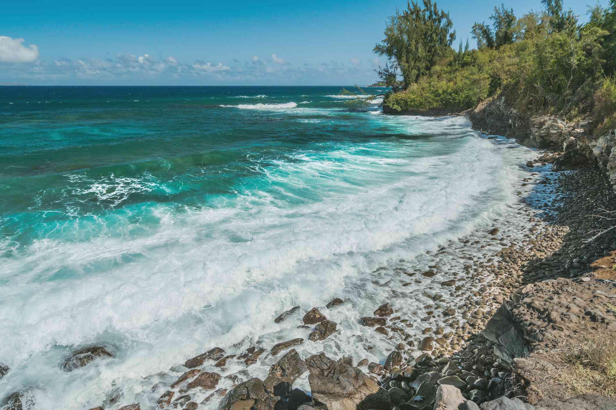 D.T. Fleming Beach Park on Maui