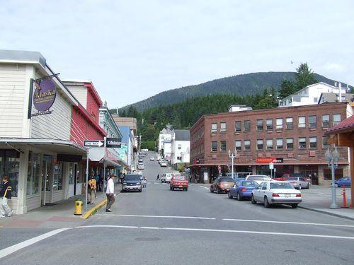 Downtown Ketchikan, Alaska