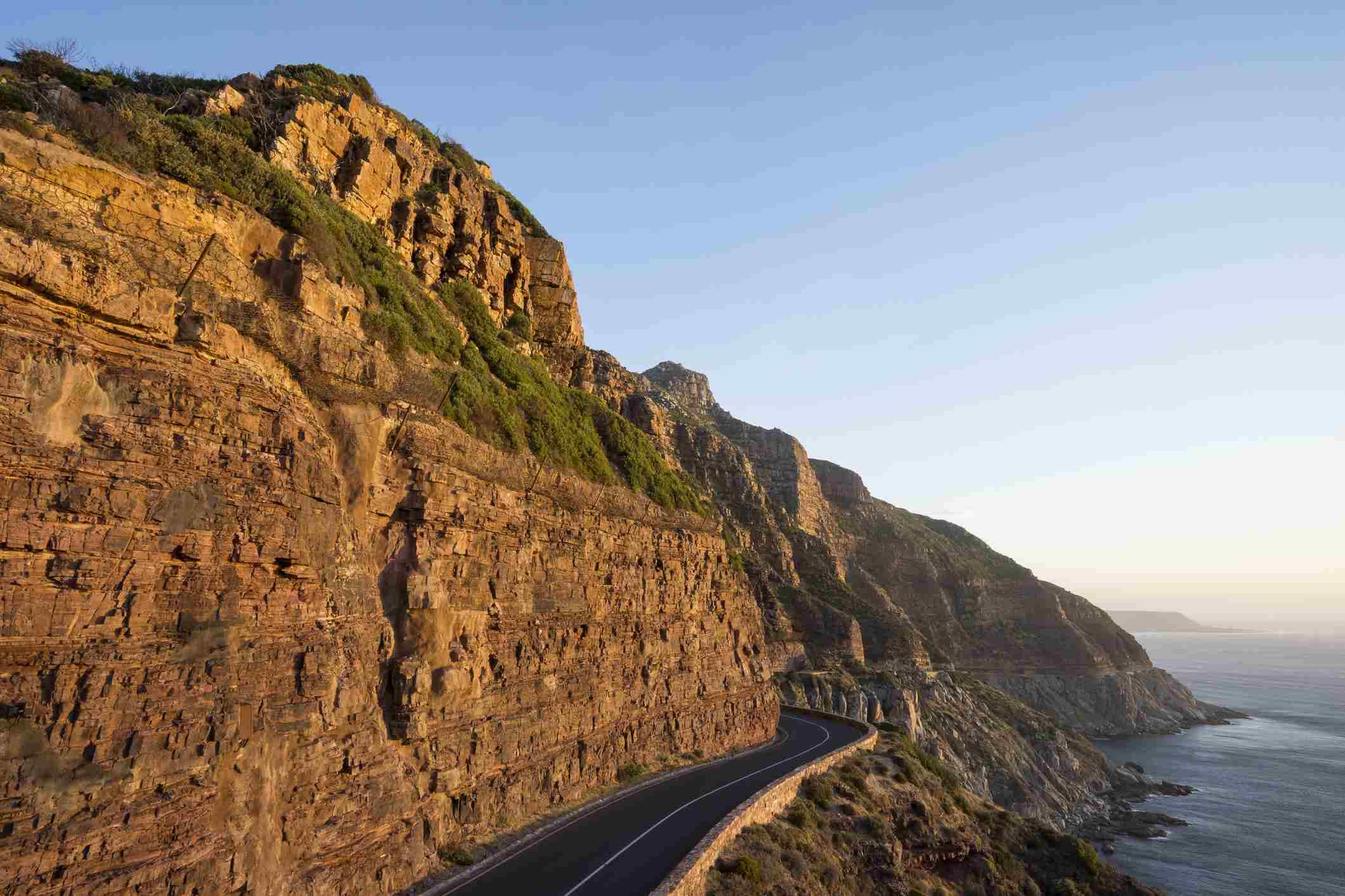 Chapman's Peak coastal toll road, Cape Town