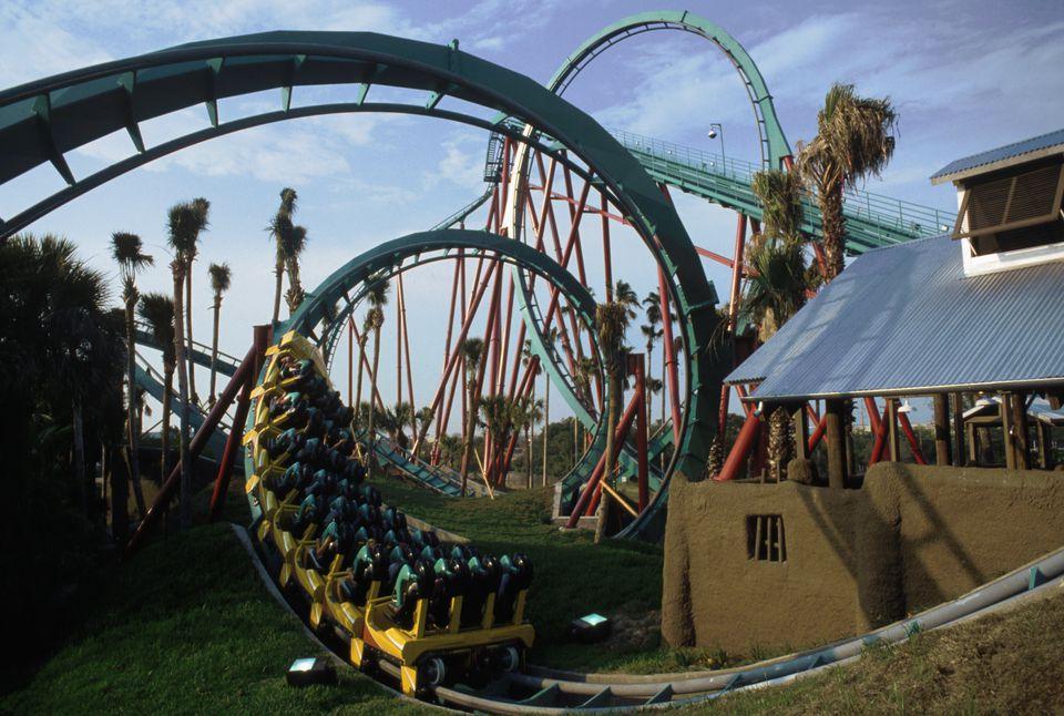 Rides at Busch Gardens