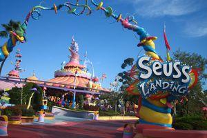 Entrance to Seuss Landing
