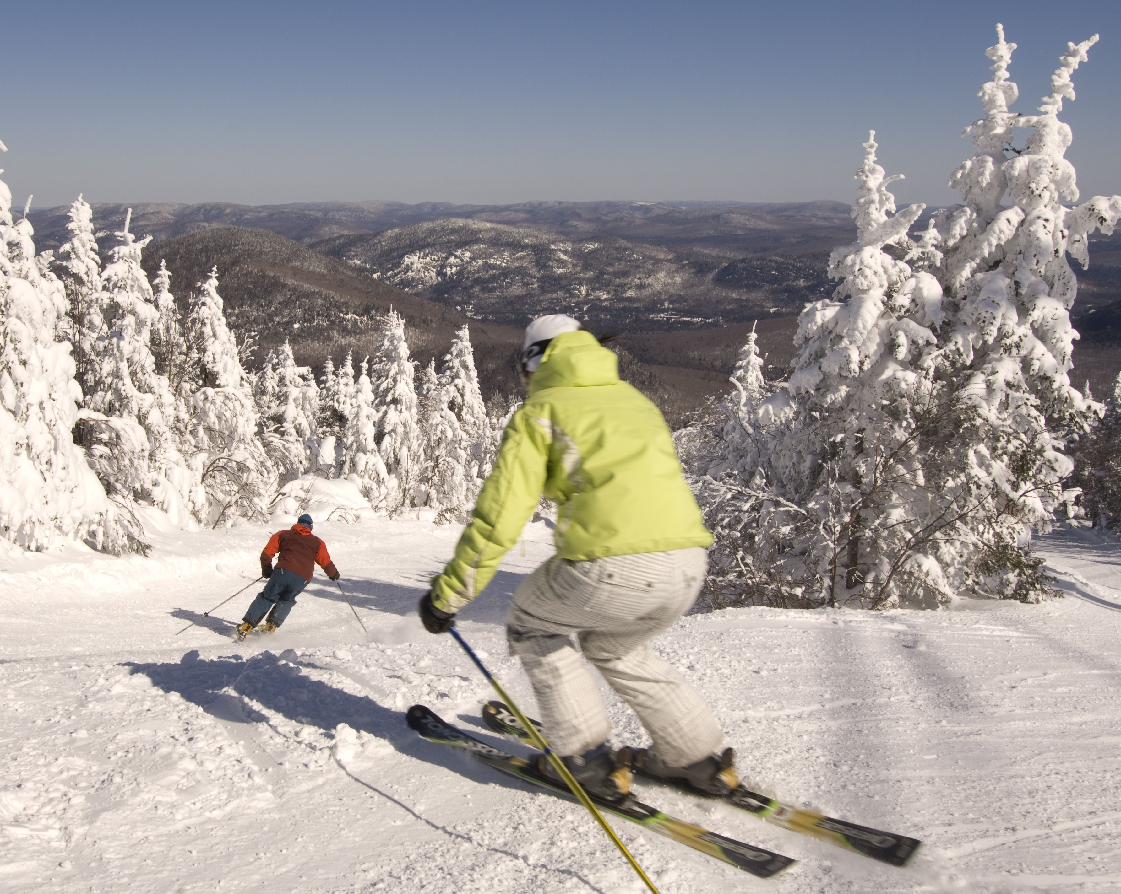 Mont Tremblant is generally acknowledged to be the best ski resort in Eastern North America.