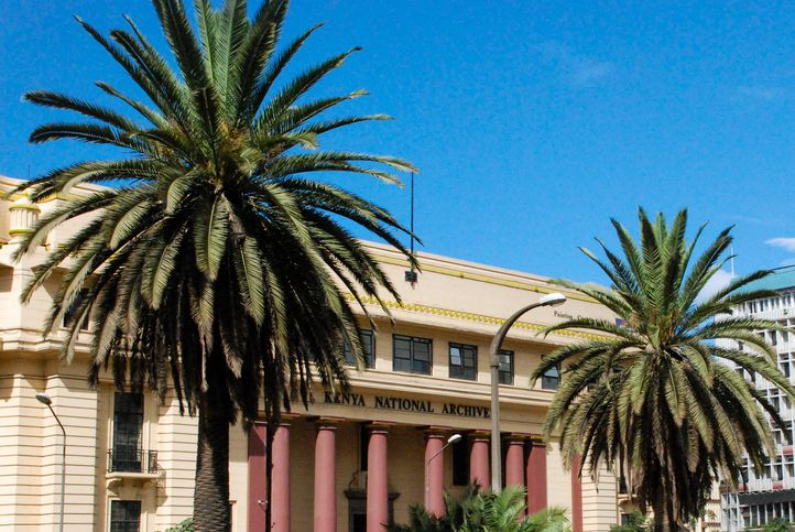 Republic of Kenya National Archives Building Nairobi Kenya