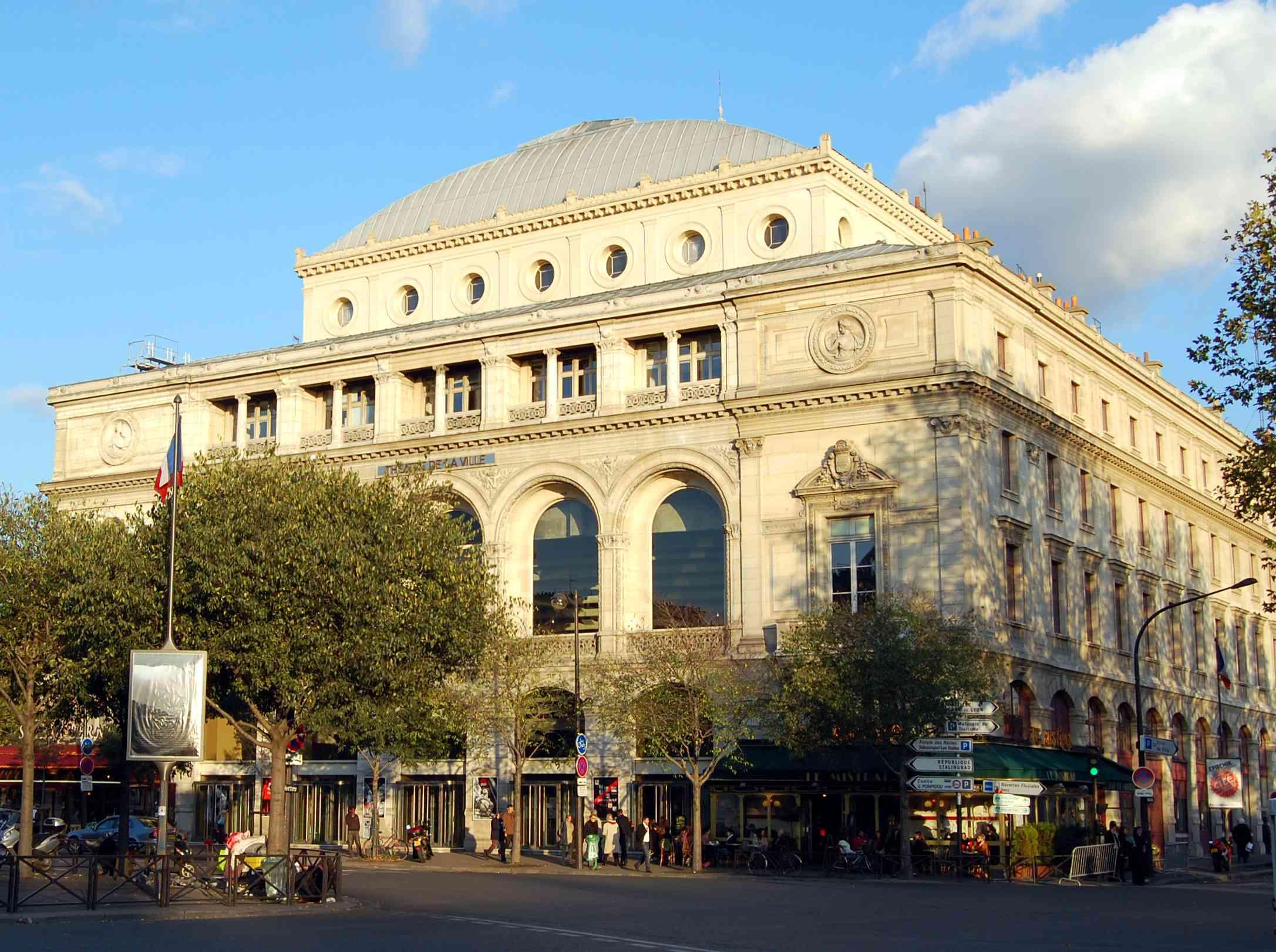 Theatre de la Ville, Paris