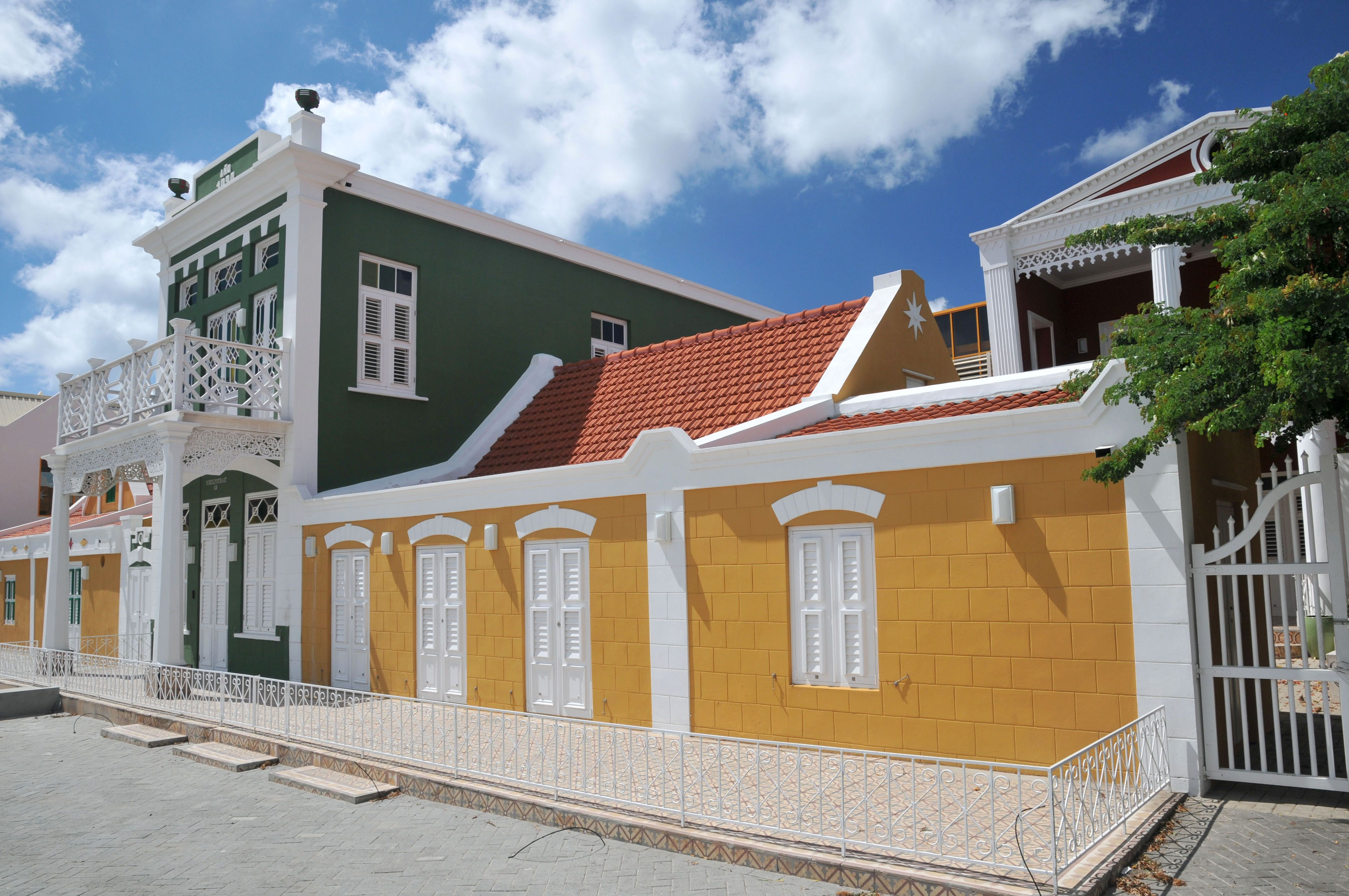 """Aruba Archaeological Museum is housed in an old """"cunucu,"""" or plantation house in Oranjestad."""