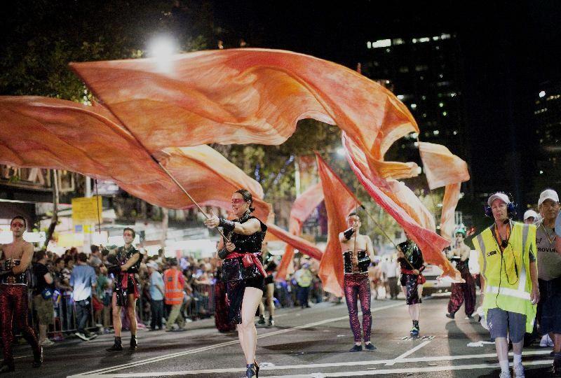 Mardi Gras parade, photo by Hamilton Lund, Destination NSW, courtesy Tourism New South Wales