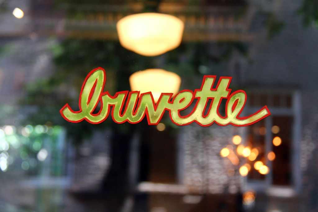 The front window at Buvette
