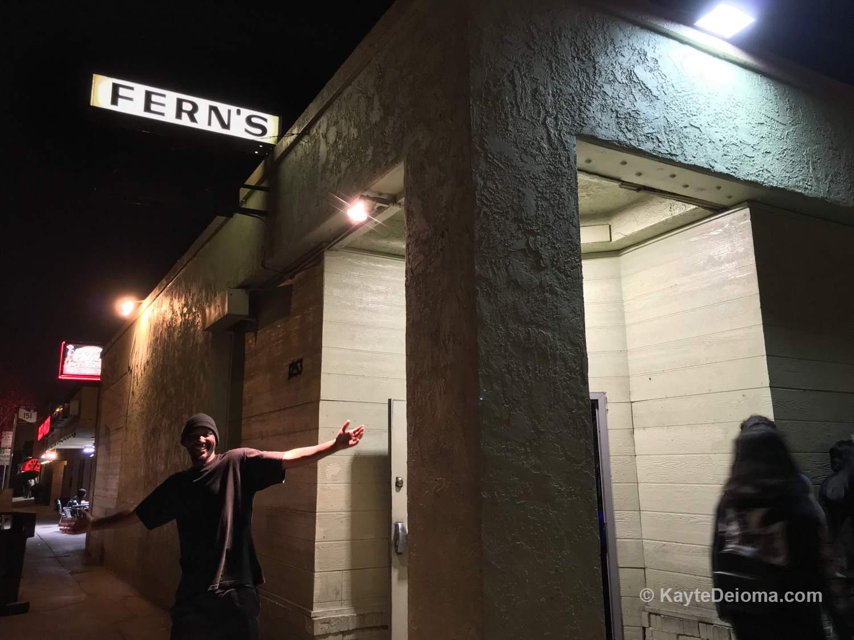Fern's on 4th Street in Long Beach, CA