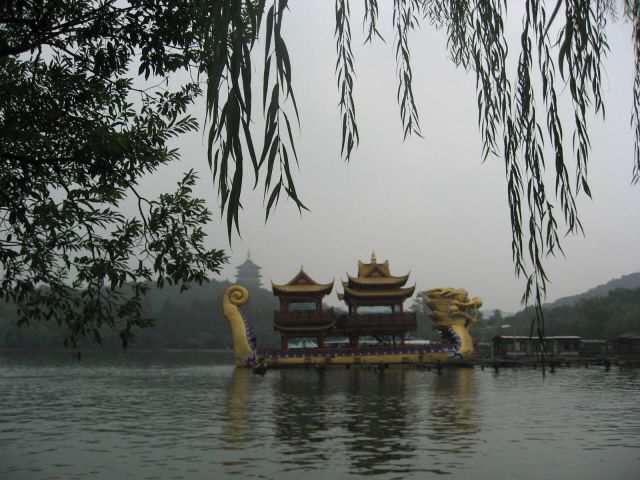 historical hangzhou west lake